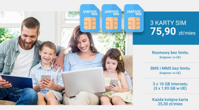 Internet graficom w pakietach LTE  – Jambox mobile